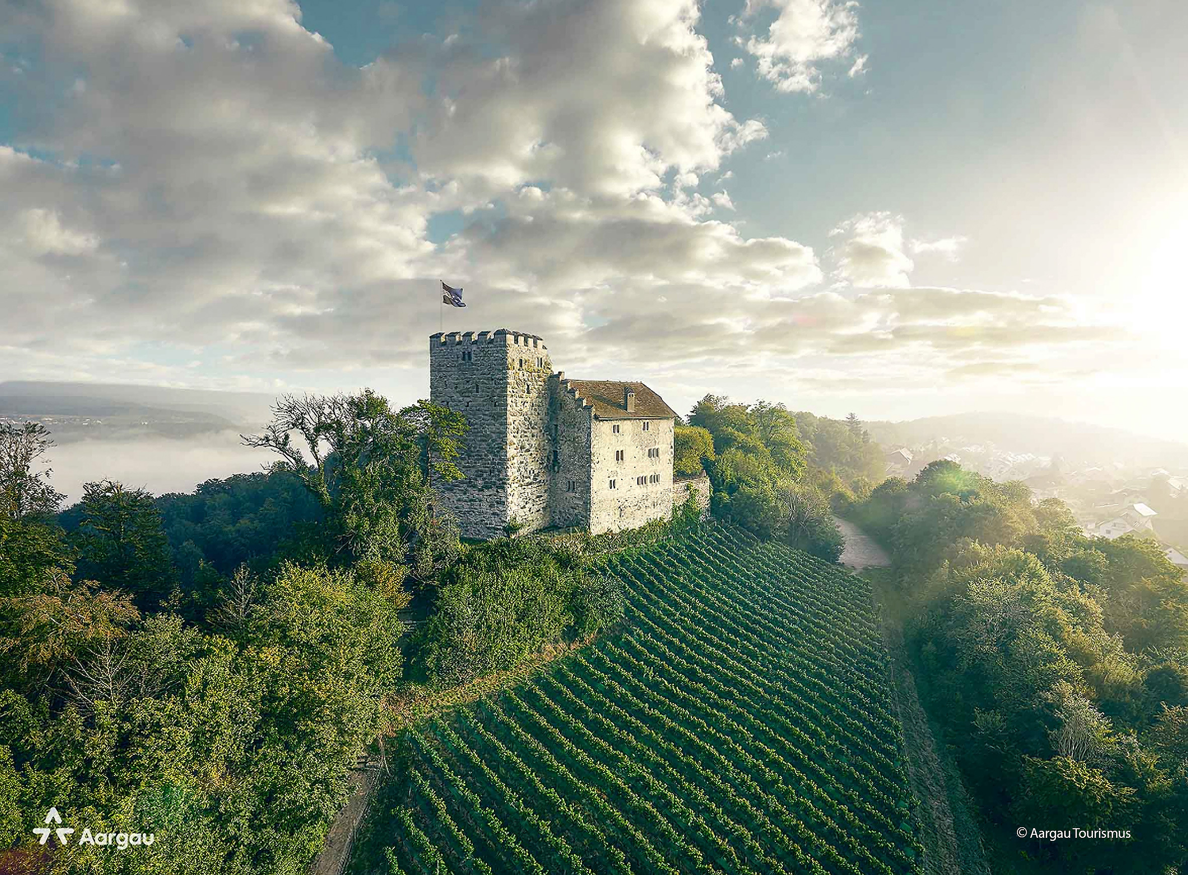 Destinations and sights in the Canton of Aargau