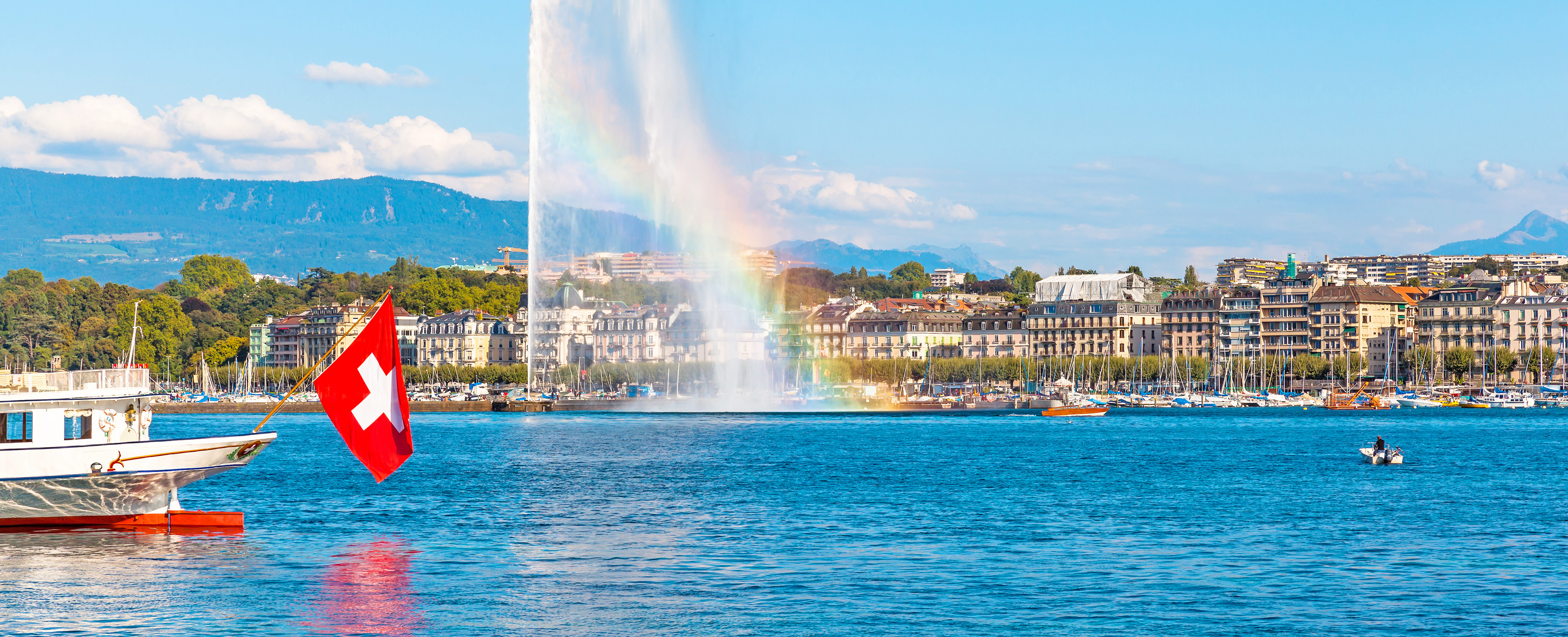 Destinations and sights in Geneva