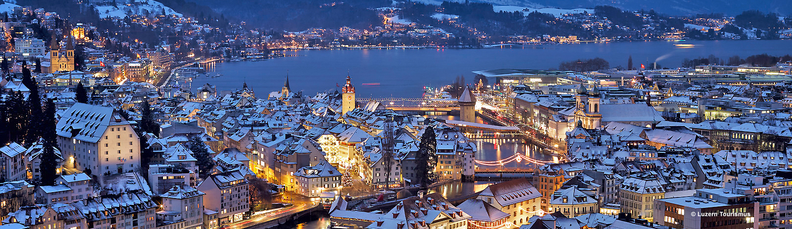 Destinations and sights in Central Switzerland