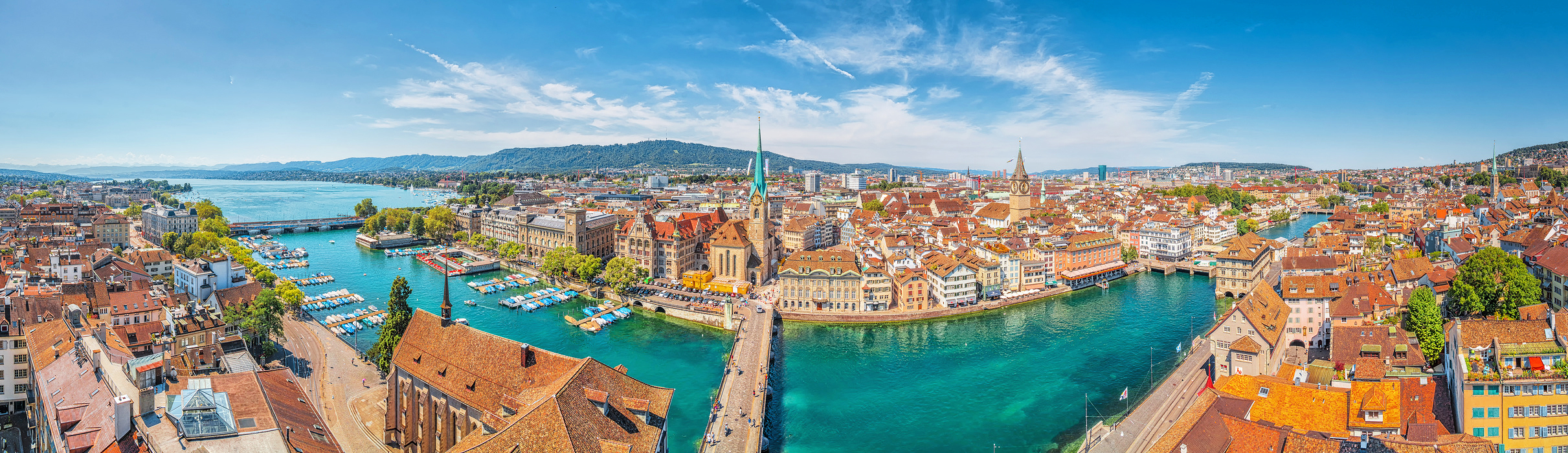 Destinations and sights in Zürich